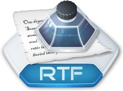 Office word rtf