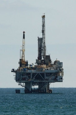 oil drilling offshore