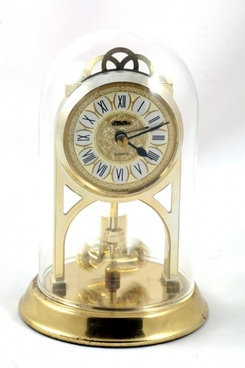 old alarm clock pendulum