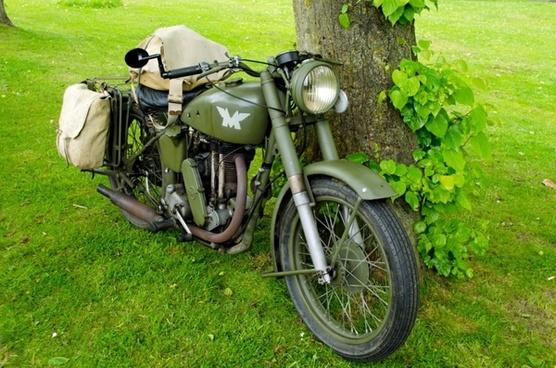 old bike motor