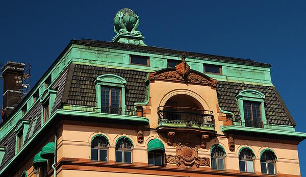 old building in stockholm