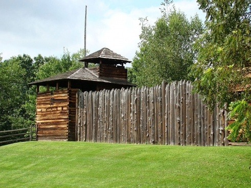 old colonial fort