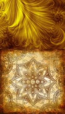 old golden flower textures hd pictures