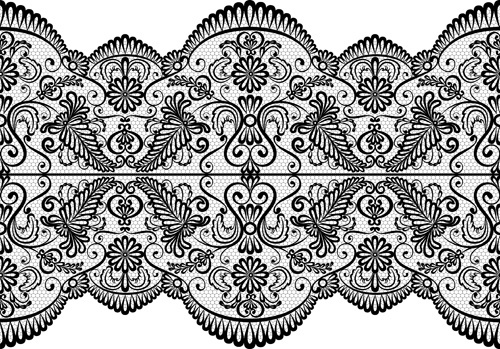 old lace ornament background art