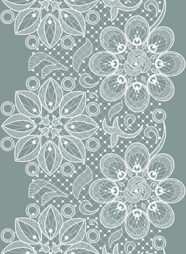 old lace ornate background vector