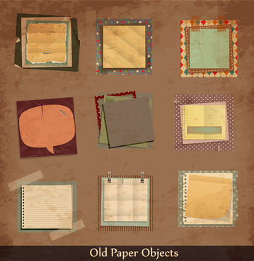 old paper collections
