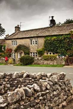 old stone cottage
