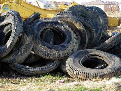old tires 575