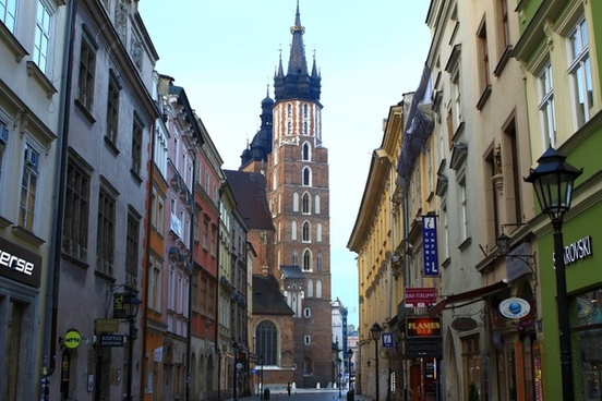 old town in cracow