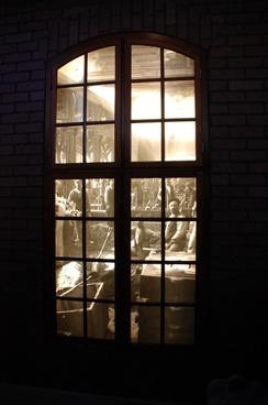 old window window industrial