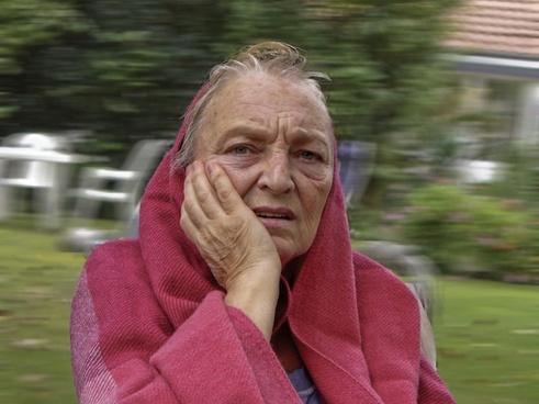 old woman human
