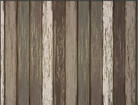 old wooden floor textured background vector