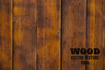 old wooden texture art background vector set