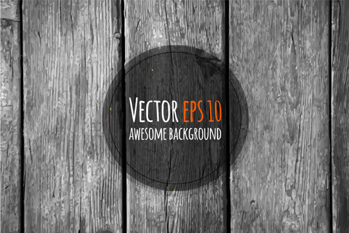 old wooden textures backgrounds vector set