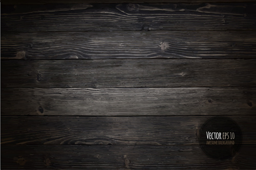 old wooden textures backgrounds vector set