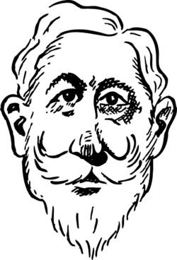 Older Kaiser Wilhelm clip art