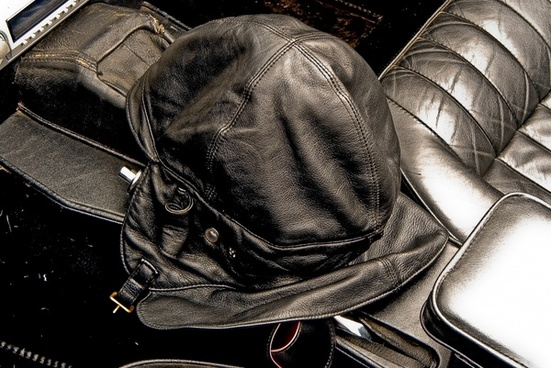 oldtimer car accessories black