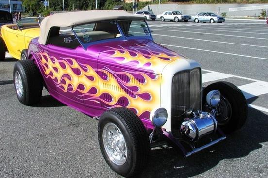 oldtimer car fency