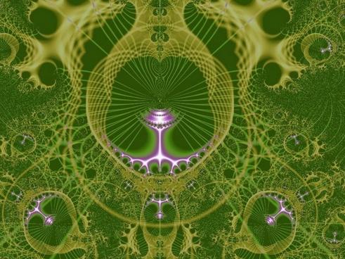 olive green fractal