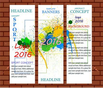 banner template free vector download 21 674 free vector for