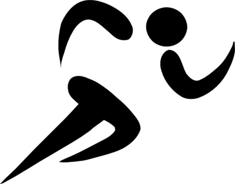 Olympic Sports Athletics Pictogram clip art