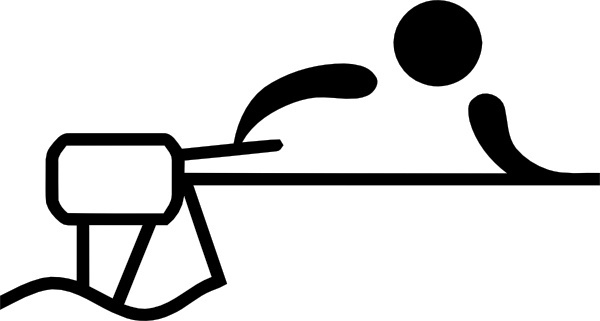 Olympic Sports Water Motorsports Pictogram clip art