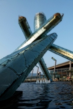 olympic torch vancouver british columbia