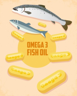 omega promotion banner fishes capsule icon decor