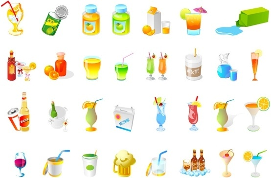 one fine drink vector