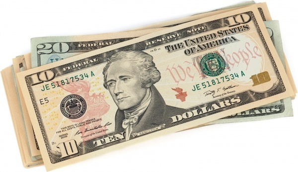 one usa banknote