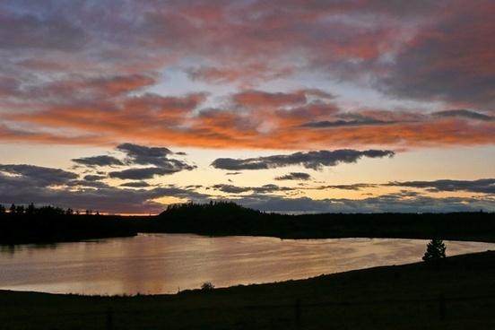 onehundredeight mile lake sunset