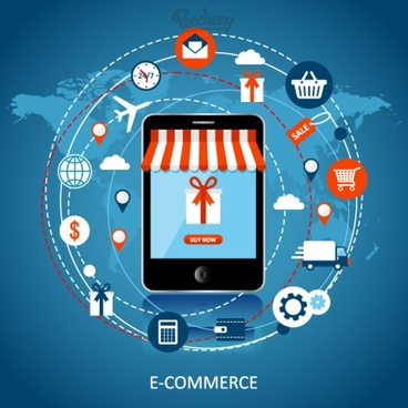 online shopping promotion template