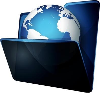 Open earth folder