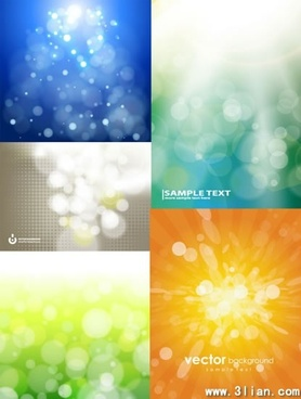 abstract background templates colored vivid bokeh decor