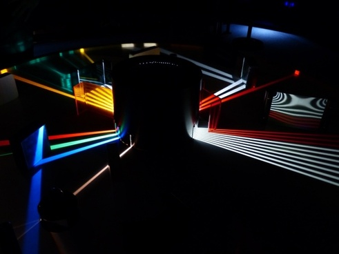 optics prism light beam