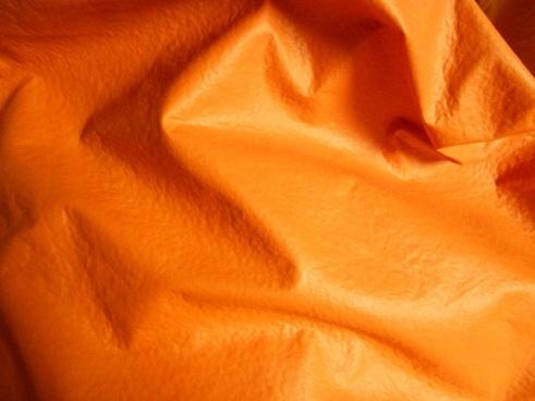 orange beanbag
