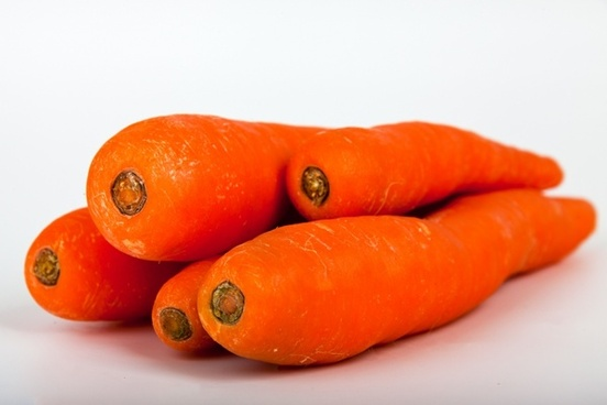 orange carrots white