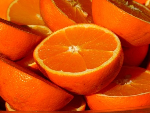 orange fruit vitamins