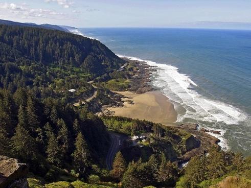 oregon shoreline coast