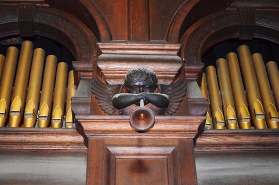 organ old angel