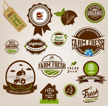 Organic lables