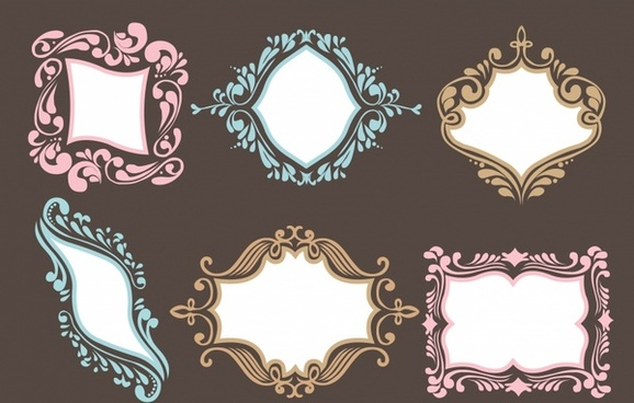 ornamental frame set