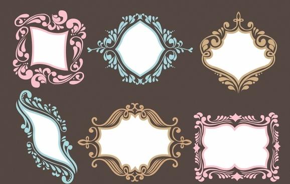 ornamental frame set