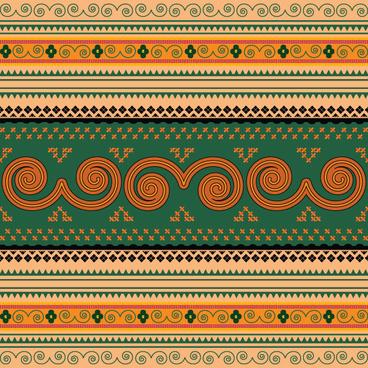 ornate antique frame vector