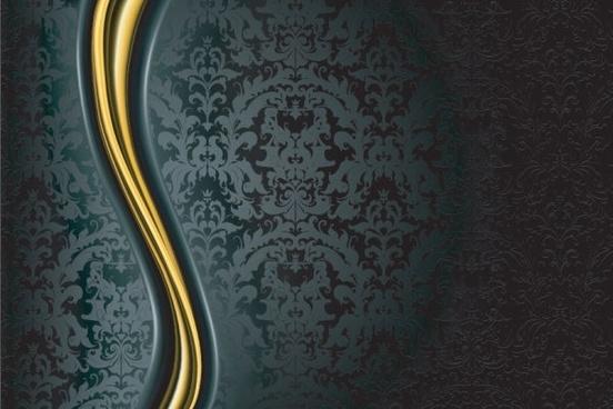 ornate background pattern 01 vector