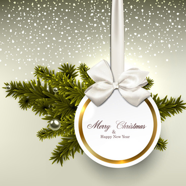 Christmas cards set eps free vector download (186,856 Free vector ...