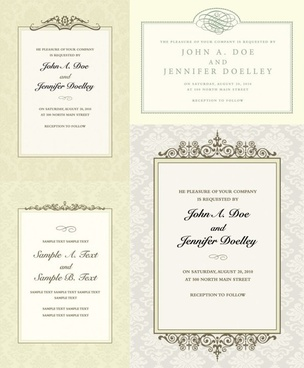 ornate certificate template vector