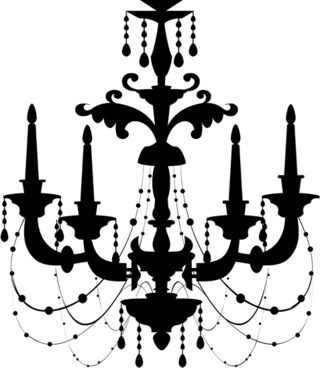 Free vector chandelier images free vector download 67 free vector ornate chandelier vector silhouette set aloadofball Images