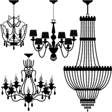 Free vector chandelier images free vector download 67 free vector ornate chandelier vector silhouette set aloadofball Gallery
