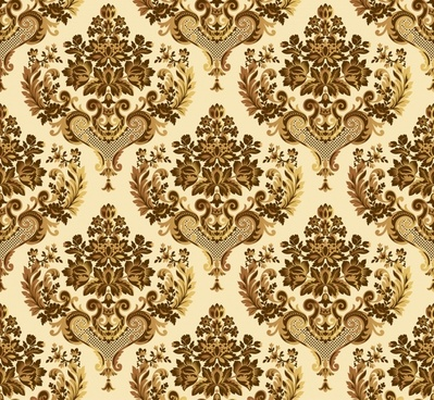 traditional pattern template brown symmetric repeated decor